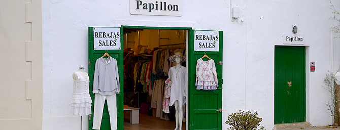 Tienda Papillon en Sant Carles, Ibiza (Foto: Silvia Castillo)
