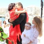 Amanda y Frederick se casaron en Ibiza