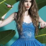Charo Ruiz Ibiza vestido azul 2013