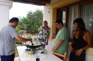 paella de José Luis