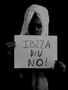 Paz Vega dice NO a las prospecciones petroliferas en Ibiza
