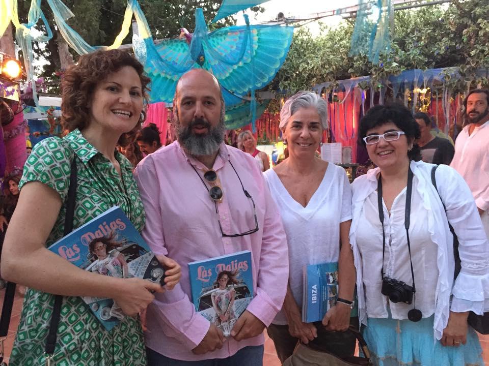 Laura Ferrer, Antonio Beneyto, Elena Ruiz Sastre y Silvia Castillo