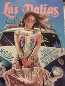 Portada de la revista de Las Dalias